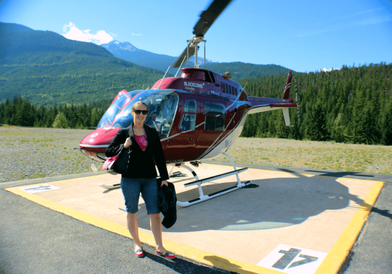 Blackcomb Aviation Helicopter ride Whistler British Columbia Garibaldi Provincial Park Romantic Activity Luxury Canada Tourism