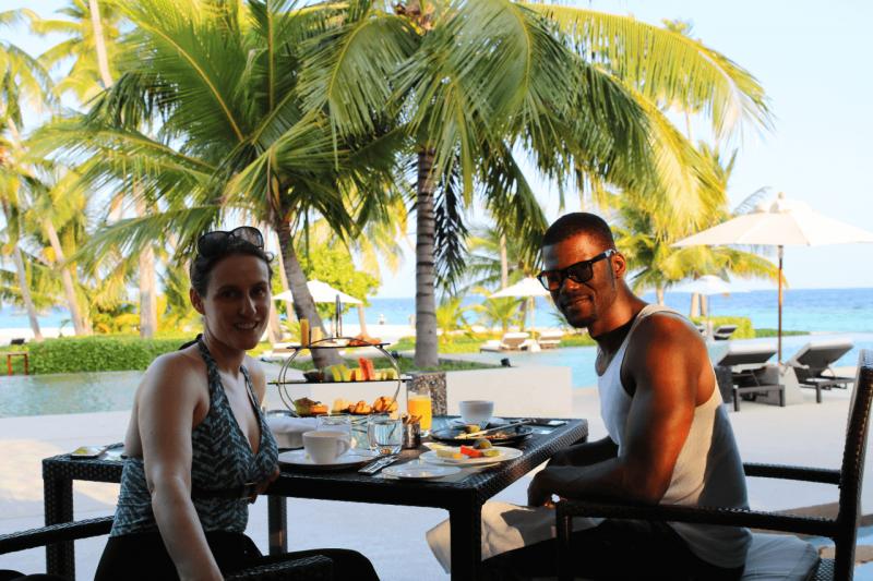 World Travel Adventurers, WorldTravelAdventurers, Park Hyatt Maldives, Hadahaa, Complimentary Breakfast, foodie, food, gourmet, Luxury Travel, Luxury resort, dream vacation, ocean view